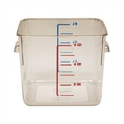 Rubbermaid Commercial Products 6-qt. Square Storage Container