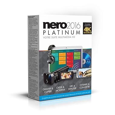 Nero – Logiciel multimédia HD Platinum 2016, bilingue, 1 utilisateur