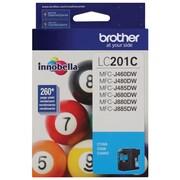 Brother LC201CS High Yield Ink Cartridge, Cyan