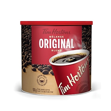 Tim Hortons Original Blend Coffee Tin, 930g
