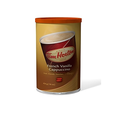 Tim Hortons French Vanilla Cappuccino Canister 454g