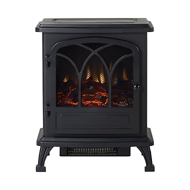 Flamelux – Poêle électrique ARRIZO Baltimore, noir