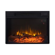 "Flamelux Clova25Ge 25"" Firebox Insert, Black"