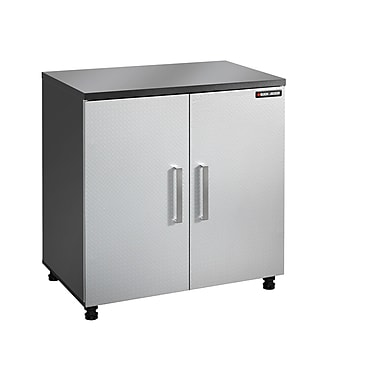 Black & Decker® 2-Door Base Cabinet, Charcoal Stipple