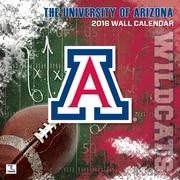 Arizona Wildcats 2016 12X12 Team Wall Calendar