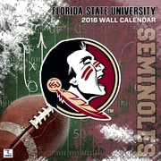 Florida State Seminoles 2016 12X12 Team Wall Calendar
