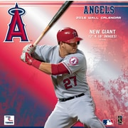 Angels 2016 12X12 Team Wall Calendar