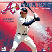 Atlanta Braves 2016 12X12 Team Wall Calendar