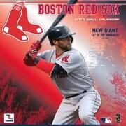 Boston Red Sox 2016 12X12 Team Wall Calendar