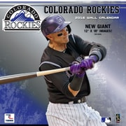 Colorado Rockies 2016 12X12 Team Wall Calendar