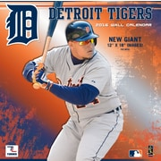 Detroit Tigers 2016 12X12 Team Wall Calendar