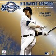Milwaukee Brewers 2016 12X12 Team Wall Calendar