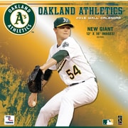 Oakland Athletics 2016 12X12 Team Wall Calendar