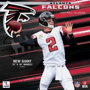Atlanta Falcons 2016 12X12 Team Wall Calendar
