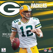 Green Bay Packers 2016 12X12 Team Wall Calendar