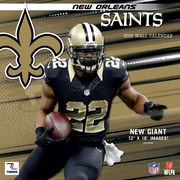 New Orleans Saints 2016 12X12 Team Wall Calendar