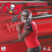 Tampa Bay Buccaneers 2016 12X12 Team Wall Calendar