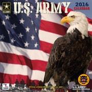 U.S. Army Flag 2016 Mini Wall Calendar