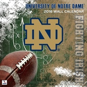 Notre Dame Fighting Irish 2016 Mini Wall Calendar