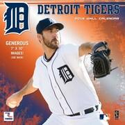Detroit Tigers 2016 Mini Wall Calendar