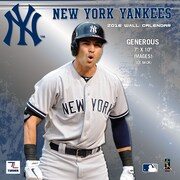 New York Yankees 2016 Mini Wall Calendar