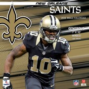 New Orleans Saints 2016 Mini Wall Calendar