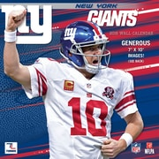 New York Giants 2016 Mini Wall Calendar