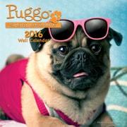 Puggo 2016 Mini Wall Calendar