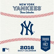 New York Yankees 2016 Box Calendar