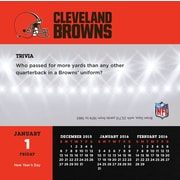 Cleveland Browns 2016 Box Calendar