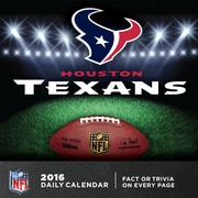 Houston Texans 2016 Box Calendar