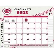 Cincinnati Reds 2016 22X17 Desk Calendar
