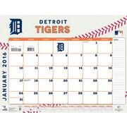 Detroit Tigers 2016 22X17 Desk Calendar