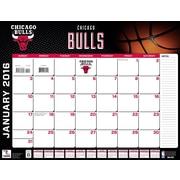 Chicago Bulls 2016 22X17 Desk Calendar