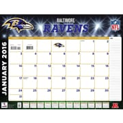 Baltimore Ravens 2016 22X17 Desk Calendar