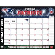 New England Patriots 2016 22X17 Desk Calendar