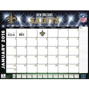 New Orleans Saints 2016 22X17 Desk Calendar