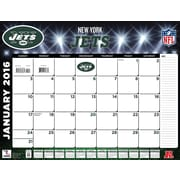 New York Jets 2016 22X17 Desk Calendar