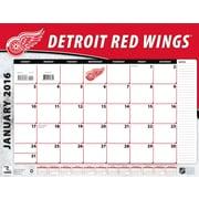 Detroit Red Wings 2016 22X17 Desk Calendar