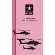 U.S. Army Pink Camo 2015-16 17-Month Planner