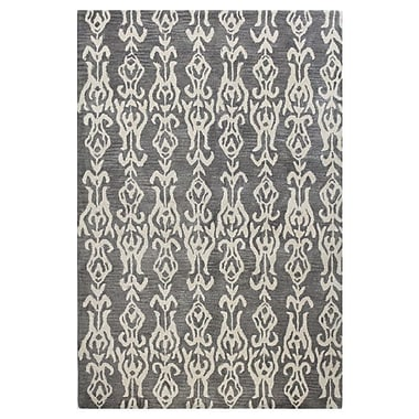 Bashian Rugs Ashland Grey Area Rug; Runner 2'6'' x 8'