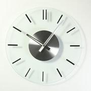 Stilnovo 16'' Mid Century Glass Wall Clock