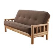Kodiak Furniture Lodge Marmont Futon and Mattress; Mocha