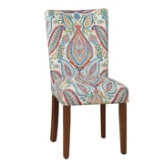HomePop Paisley Parsons Chair (Set of 2)