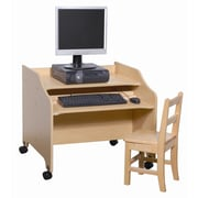 Steffy Manufactured Wood 26'' Student Computer Desk