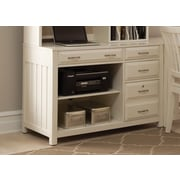 Liberty Furniture Computer Desk Credenza; White