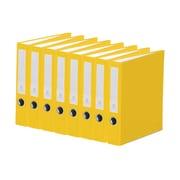 Bindertek 3-Ring 2-Inch Premium Binder 7-Pack, Yellow (3SLPACK-YE)