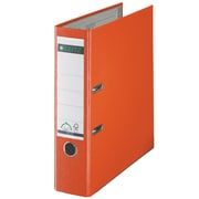 Leitz 2-Ring 3-Inch Premium A4 Sized European Binders, Orange (1010-OR)