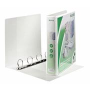 Leitz 4-Ring 2.5-Inch Premium A4 Sized European View Binders, White (4286)