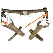 Costume JangoFett de StarWars ÉPII avec 2pistolets laser et ceinture avec étuis